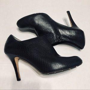 Cole Haan Nike Air Talia Snakeskin heeled bootie